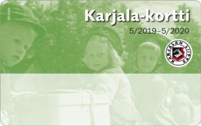Karjala-kortti on Karjalan Liiton jäsenkortti