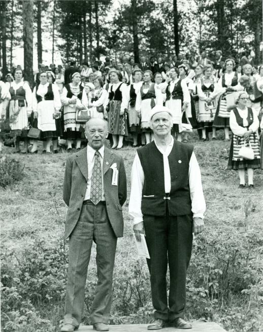 Kesäjuhlat Imatralla 1977.