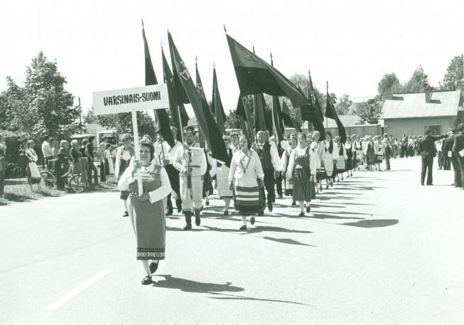 Karjalaiset kesäjuhlat Salossa 1978.