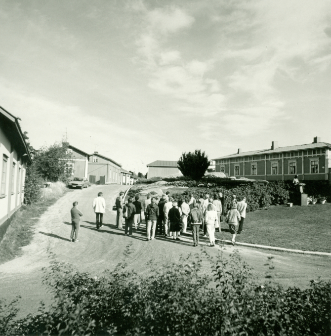 Karjalaiset kesäjuhlat 1988 Raumalla.