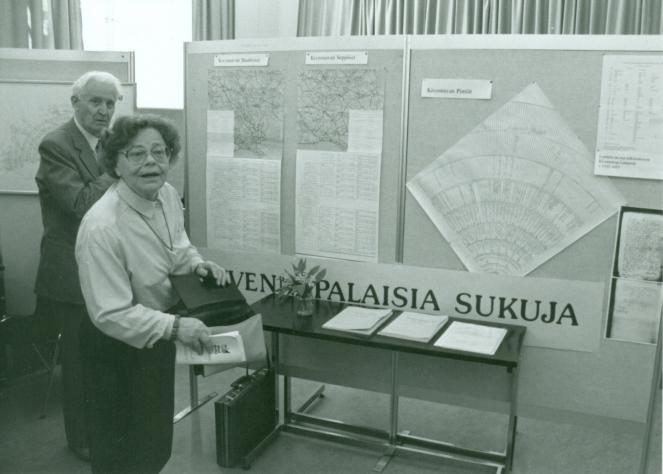 Karjalaiset kesäjuhlat Tampereella 1994.