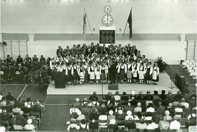 Kesäjuhlat Riihimäellä 1968.
