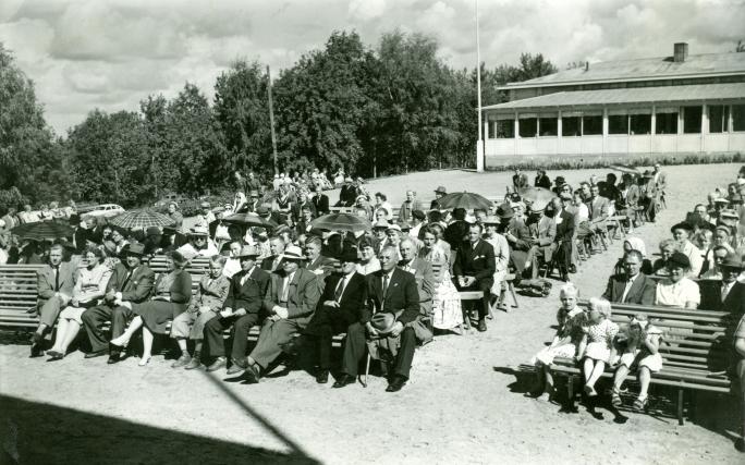 Kesäjuhlat Lahdessa 1956.