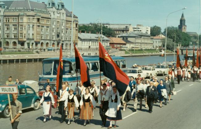 Karjalaiset kesäjuhlat Turussa 1967.
