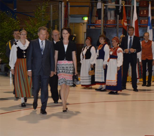 Karjalaiset kesäjuhlat Porissa 2013.