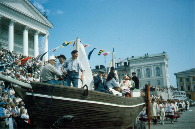Karjalaiset kesäjuhlat, suurjuhlat Helsingissä 1985.